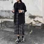【set 単品注文】スーツ+チュールスカートカジュアルセットアップ