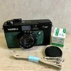 リメイクカメラ YESHICA 35MF(グリーン•インディゴブルー)