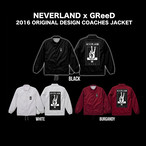 NEVERLAND x GReeD 2016 ORIGINAL DESIGN COACHES JACKET
