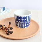 【SL-0044】*美濃焼* 磁器 フリーカップ 白×ブルー
