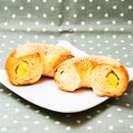 もっちりベーグル さつま芋の甘露煮&北海道クリームチーズ