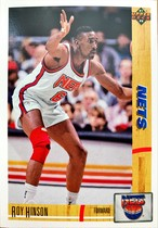NBAカード 91-92UPPERDECK Roy Hinson #389 NETS