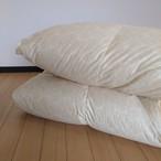 S-羽毛掛ふとん 【マース】 シングル カナダマザーホワイトグースダウン-CONキルト (80サテン/1.3kg)