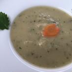 【Baffi Delicious SOUP】自家製ワーコン(わんこ用ベーコン)とキャベツのポタージュ