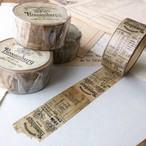 Rosenburgマスキングテープ(茶)20mm