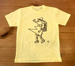 hs-39 ATHLETICS 『PINOCCHIO』 T-SHIRT ・イエロー