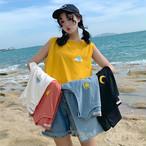 【tops】 ファッション配色合わせやすいキャミソール21352129