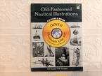 【VA258】Old-Fashioned Nautical Illustrations CD-ROM and Book (Dover Electronic Clip Art)   /visual book