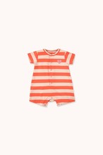 "TINYCOTTONS タイニーコットンズ ""HEART"" STRIPES ONE-PIECE size:6M(60-70)・9M(70-80)"