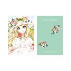 BNTM1-PF4 ぽち袋(春の少女)