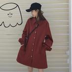 【送料無料】秋っぽ♪シャツワンピ♡ワンピース シャツワンピ カジュアル 着回し 学生 シンプル