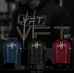 LIVE FIT International II Hoodie - RED
