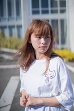 「Yunomi ドット刺繍 ペン助Ver.」「きあと ドット刺繍 あかちゃんVer.」(ビッグシルエットTシャツ)