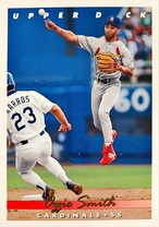 MLBカード 93UPPERDECK Ozzie Smith #146 CARDINALS