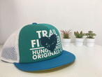 【Hunger Knock】 TRAIL FIGHTER CAP ON THE HEART(Emeraldgreen)