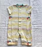 【Tオール】sora no oto/イエロー/original textile