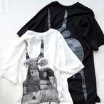 セール!バックプリント・ロング丈Tシャツ *nude: masahiko maruyama