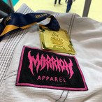 MARRION APPAREL LOGO ワッペン(Black×Pink)