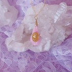 crystal necklace pink (typeC)