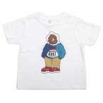 One Family Co. × 0867 / Kids T-Shirt / Bear / White