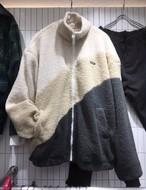 3カラーフリース ★UNISEX フリース アウター ストリート 韓国ファッション