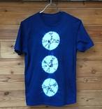 オーガニック藍染Tシャツ絞り