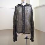 【RehersalL】line mosquito parka (gray)/【リハーズオール】ラインモスキートパーカー(gray)
