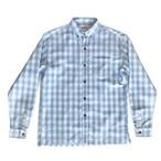 Mountain BDパラカシャツ / ロングスリーヴ / サックスブルー