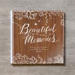Tree's Board(Brown)-MATERNITY_A4スクエア_10ページ/20カット_クラシックアルバム(アクリルカバー)