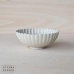 [田中 大喜]灰釉 菊形鉢