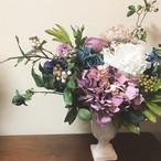 芍薬と紫陽花のアレンジメント