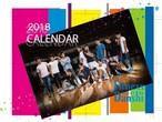 フィットネス男子2018カレンダー 卓上サイズ