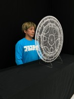 飛沫防止パーテーション【魔法陣バージョン】