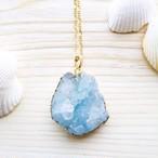 Druzy pendant (AQUA BLUE)