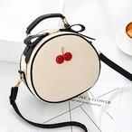 【小物】桜桃可愛いスタイルすがすがしいチャーミングPUバック
