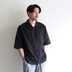 STILL BY HAND【mens】 silk linen zip shirts