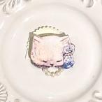 ペルシャ猫のブローチ&チャーム