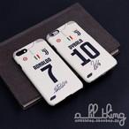 「SERIEA」ユベントス 2018-19シーズン アウェイユニフォーム Cロナウド パウロディバラ サイン入り iPhoneXS iPhone8 ケース
