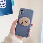 【オーダー商品】グリップ付き Cute dog iphone case