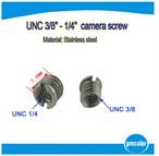 Japan Pro Video・3/8インチカメラネジ穴→1/4標準カメラネジ穴 変換器