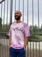 【YKG】マクラート Tシャツ【パープル】【新作】イタリアンウェア《M&W》