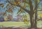 NO.38「光る葉・11月」