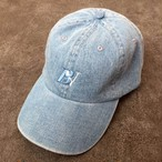 ★予約受付中【UNISEX】BV LOGO CAP (LIGHT BLUE DENIM)/ 2月上旬発送~