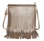 Messenger Bag Tassel Leather Small Crossbody Shoulder Bag Long Tassel Bag (ZM1-2353733)