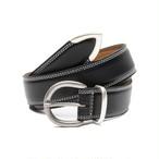 Metal Tip Belt(Black)