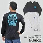 GUARD ガード Star of Life (スターオブライフ) WaterPatrol ロングTシャツ LS-243 LS243 メンズ アウトドア レスキュー ライフセービング ロングTシャツ ロンT