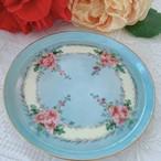 フランス リモージュブルーの小皿