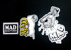 Mad sculptures original sticker