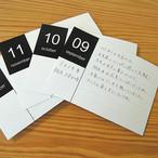 一ヵ月に1枚、記録を残せます! 「育児日記カード」 Nakabayashi × OUR HOME  OUR-INC-1 【37598】