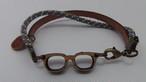 岸和田のだんじりに使われているけやきの眼鏡ブレスレット